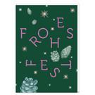 tyx308 | Typoesie | Nachtgrün Frohes Fest