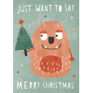dfx310 | Designfräulein | Monster Christmas - postcard