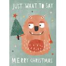 dfx310 | Designfräulein | Monster Christmas - Postkarte