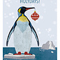 dix003 | Daria Ivanovna | Pinguin - Postkarte A6