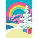 lux039   luminous   Rainbow - postcard