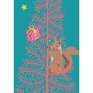 lux041   luminous   Squirrel - postcard