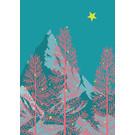 lux043 | luminous | Trees - Postkarte