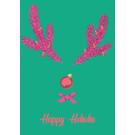 lux044   luminous   Happy HoHoHo - postcard
