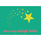 lux045 | luminous | Have a merry and bright - Postkarte
