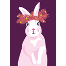 lux049 | luminous | Rabbit - postcard