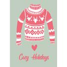 lux054   luminous   Cozy Holidays - postcard