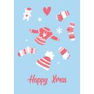 lux055   luminous   Winterclothes - postcard