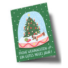 arx301 | Anke Rega | Snow globe - double card