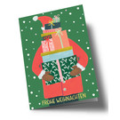 arx303 | Anke Rega | St. Claus gifts - double card