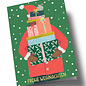 arx303   Anke Rega   St. Claus gifts - double card C6