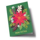 arx305 | Anke Rega | Christmas flowers - double card