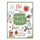 Make your day fzmd014 | Make your Day |  Advent Advent - Postkarte