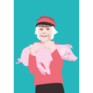 ng213 | pop art new generation | Swedish boy - Postkarte