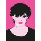 ng214 | pop art new generation | Punk queen - Postkarte