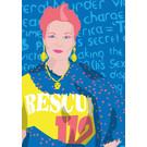 ng219 | pop art new generation | Punk fashion queen - postcard