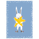 sg240 | schönegrüsse | Hase mit Stern - Postkarte