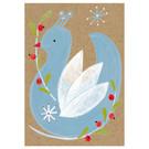 sg239   schönegrüsse   winter bird - postcard