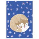 sg242 | schönegrüsse | Fuchsmami mit Kind - Postkarte
