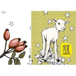 IL9034 | illi | Henri With Stars - folding card  B6