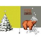 IL9039 | illi | Star Bear Carl - folding card  B6