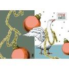 IL9041   illi   Goose Regina - folding card  B6