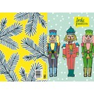 IL9035   illi   Nutcracker Gustav-Hermann-Otto - folding card  B6