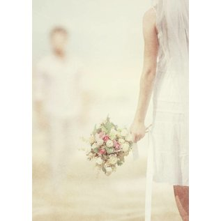 b039 | brocante | Marriage - postcard A6