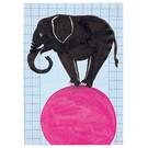 SG031 | schönegrüsse | Circus - Elephant - postcard A6