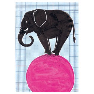 SG031 | schönegrüsse | Circus - Elefant - Postkarte A6