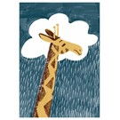 SG069 | schönegrüsse | Circus - Giraffe - Postkarte A6
