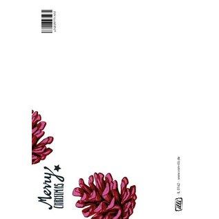 IL0142 | illi | Pinecone Pink - postcard A6