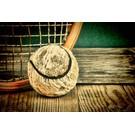 b055 | brocante | Tennis - Postkarte A6