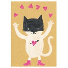 SG090 | schönegrüsse | Happy Cat - postcard A6