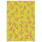 SG097 | schönegrüsse | Jahreszeiten - Pink Blumen - Postkarte A6