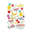 cc005 | crissXcross | Fruits - Postkarte A6