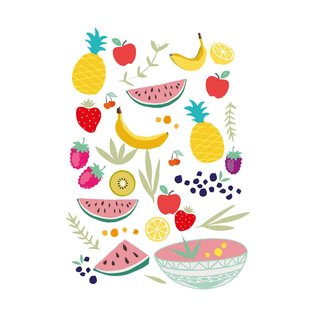 cc005 | crissXcross | Fruits - postcard A6