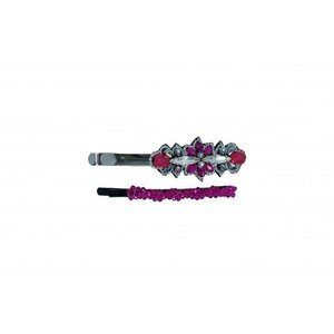 Pink Pewter Bobbi Pins Tilly - Fuchsia