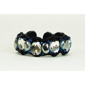 Pink Pewter Bracelet Maybeline - Black/Blue