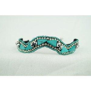 Pink Pewter Bracelet Melinda - Turquoise