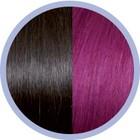Euro SoCap Seiseta Invisible Clip-On 4/62 Kastanje bruin/Red violet