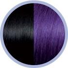 Euro SoCap Seiseta Invisible Clip-On 1B/63 Zwart/Violet