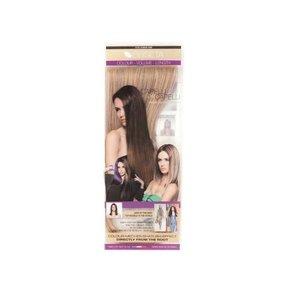 Euro SoCap Seiseta Invisible Clip-On 6/27 Chocolade bruin/Goud blond