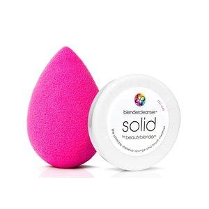 Beautyblender ORIGINAL Roze + Mini Solid Cleanser kit