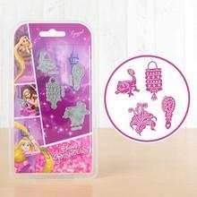 Disney 'Princess' Rapunzel Embellishments (DL085)