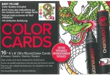 Chameleon Color Cards Tattoo (CC0104)