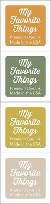 My Favorite Things Premium Dye Ink Cubes - Set 05 (ICUBE-05)