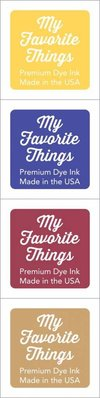 My Favorite Things Premium Dye Ink Cubes - Set 19 (ICUBE-19)