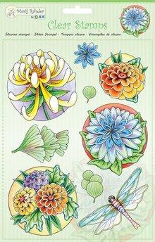 Marij Rahder Clear Stamps Bloemen (9.0038)