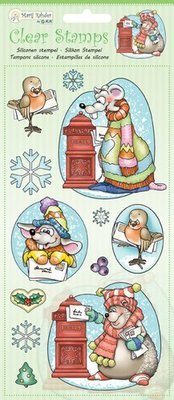 Marij Rahder Clear Stamps Winter Animals (9.0037)